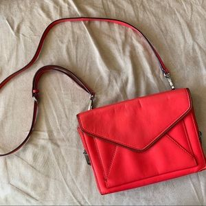 Rebecca Minkoff Red Envelope Crossbody
